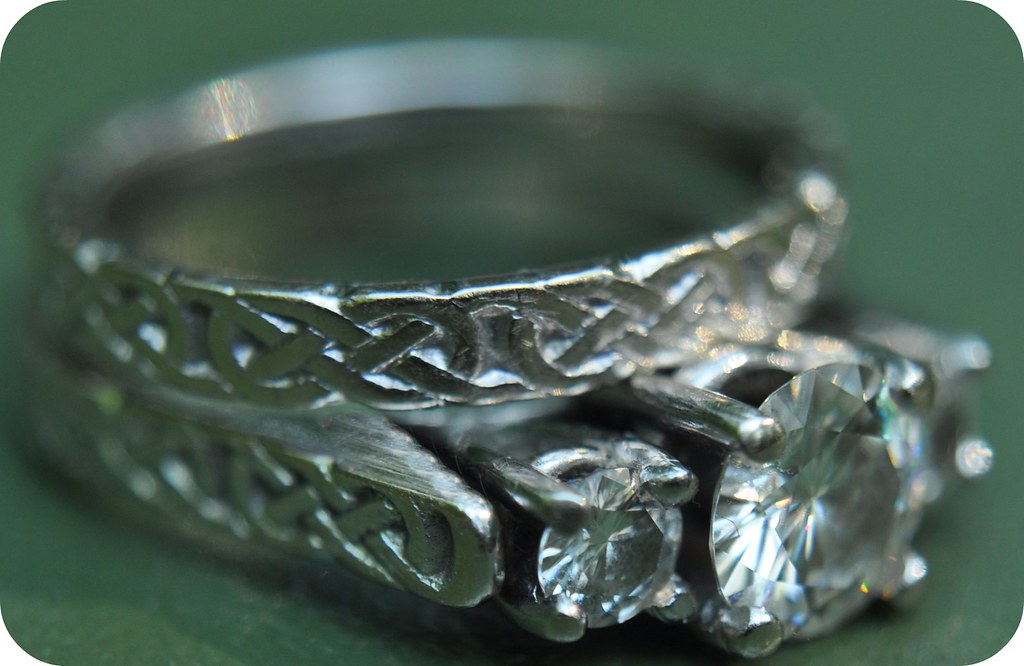 my engagement wedding ring - Scottish Wedding Rings