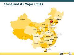 Map Of China And Its Major Cities China And Taiwan Comes T Flickr