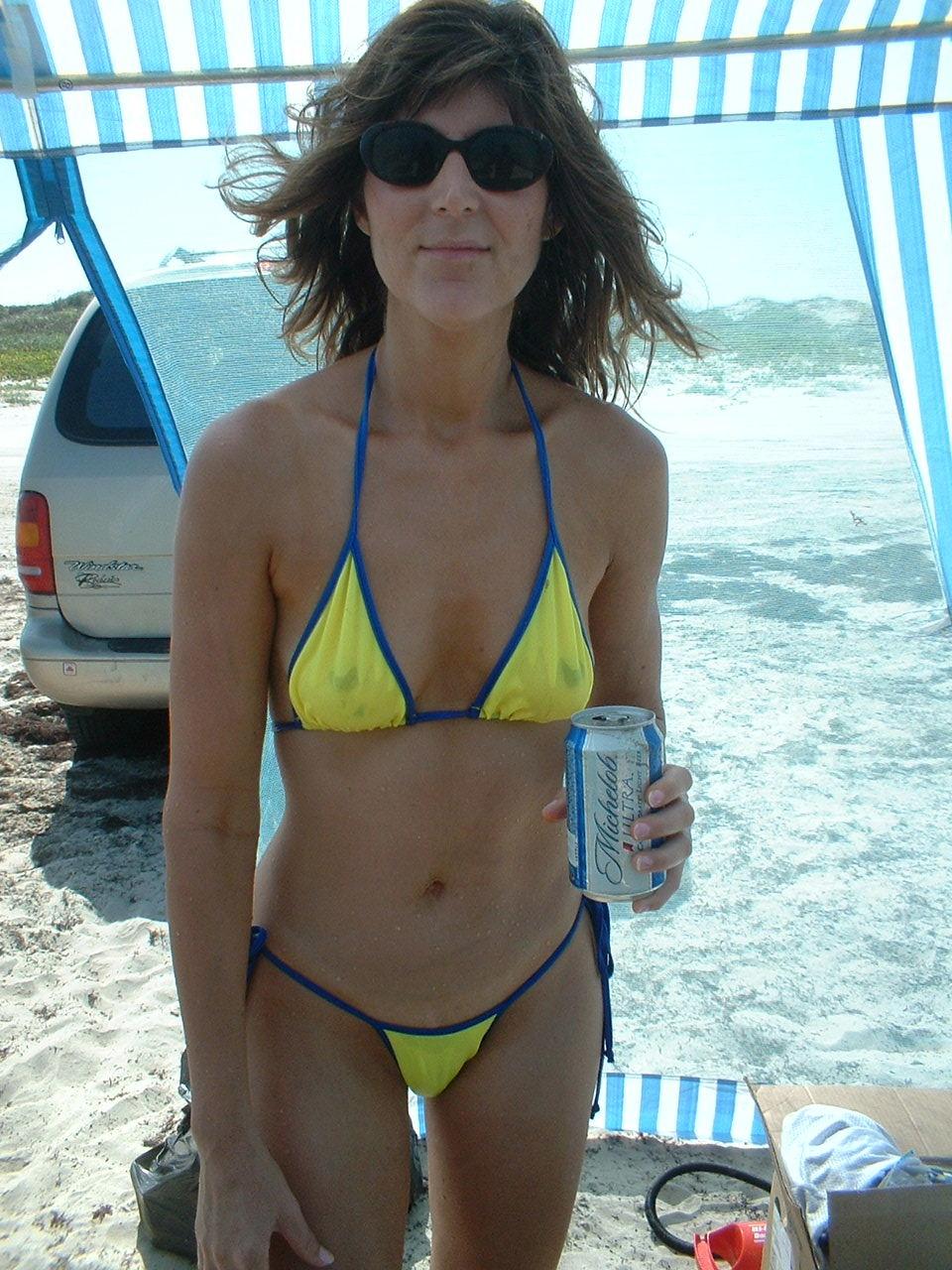 wife bikini Sexy micro