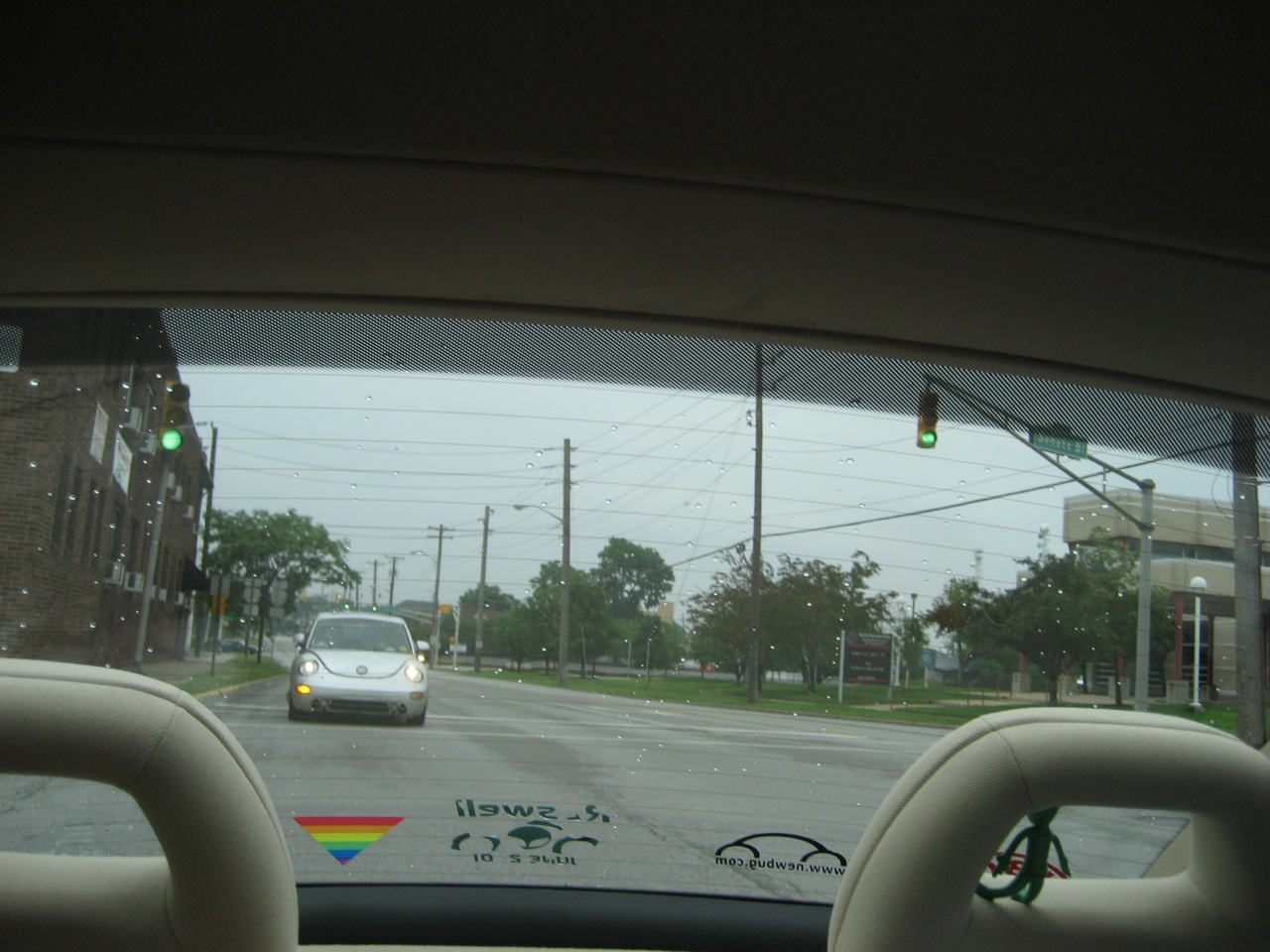 Spacepod in rear view