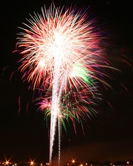 4th of July fireworks at the Milwaukee Fairgrounds