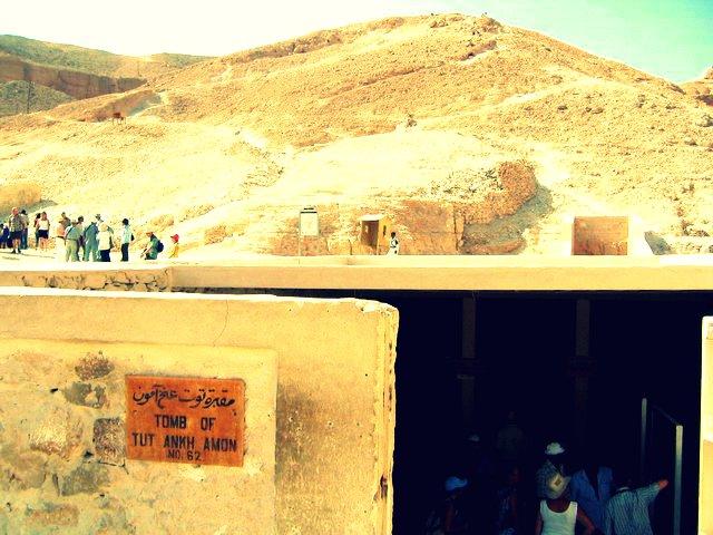 Tutankhamen's tomb.