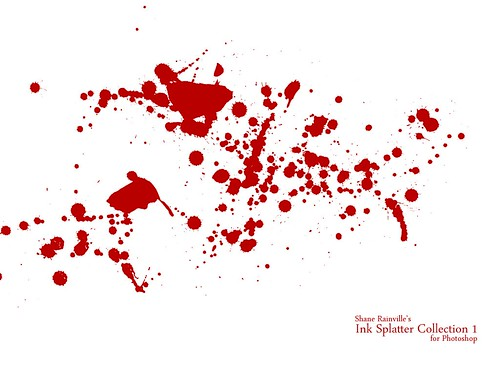 Ink Splatter Collection 1 Preview