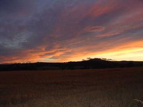 sunset clouds august late tarland morven pressendye