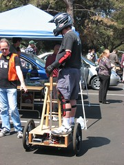 racing(0.0), race(0.0), motorcycle(0.0), automobile(1.0), vehicle(1.0), segway(1.0), land vehicle(1.0),