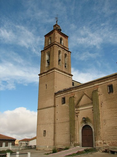 Iglesia de la degollación de San Juan Bautista - Torre y portada