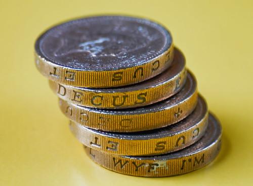 Money UK British Pound Coins
