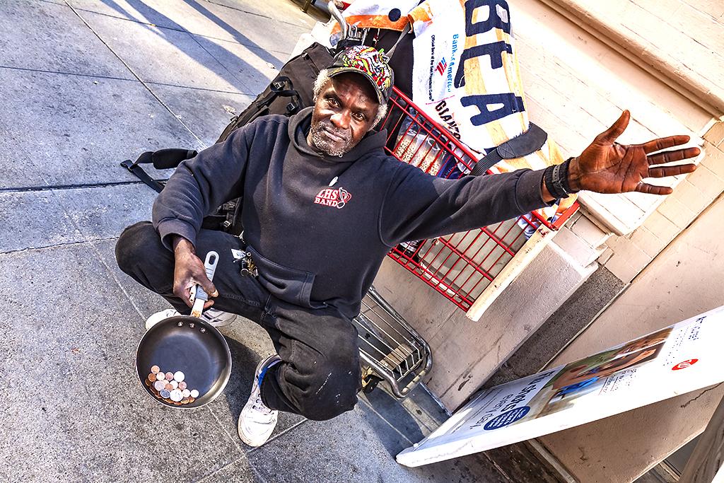 Panhandler--San-Francisco