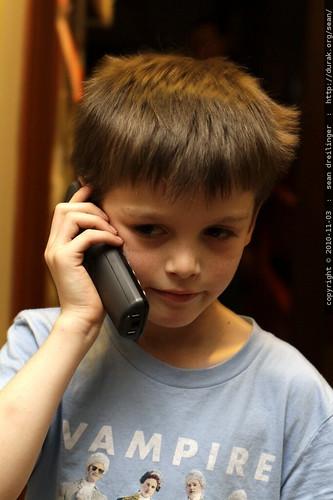 paul calling nick to wish him happy birthday