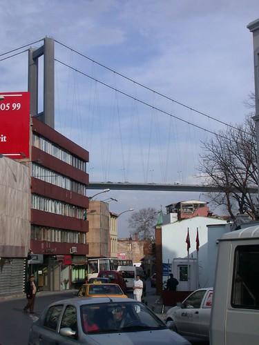 Ott lesz a Boszporusz-híd