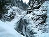 The Apuseni Mtns at Răchiţele, Cluj County, Transylvania, Romania: cascada Vălul Miresei/Bride's Veil waterfall