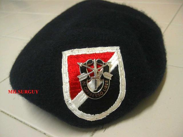 Delta Force Beret Flash 13 CAP DELTA FORCE BER...
