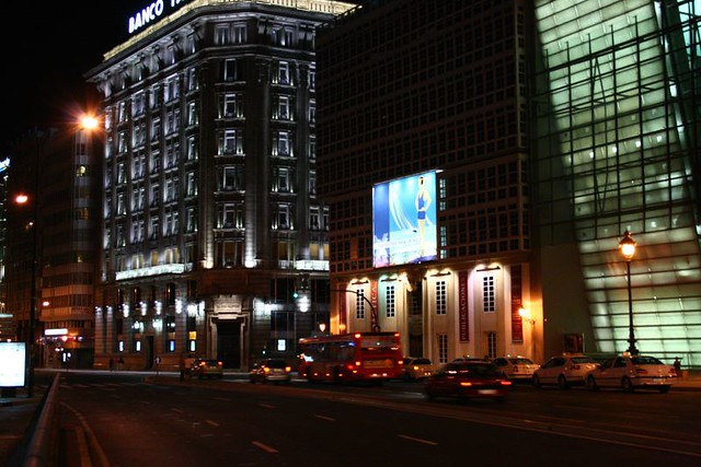 Noche bailarines grande en La Coruña