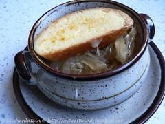 Zwiebelsuppe aus dem Crockpot