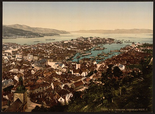 [Panoramic view, II, Bergen, Norway] (LOC)