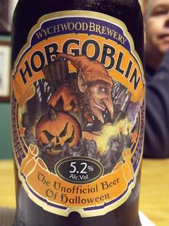 52 beers 3 - 09, Wychwood, Hobgoblin, England