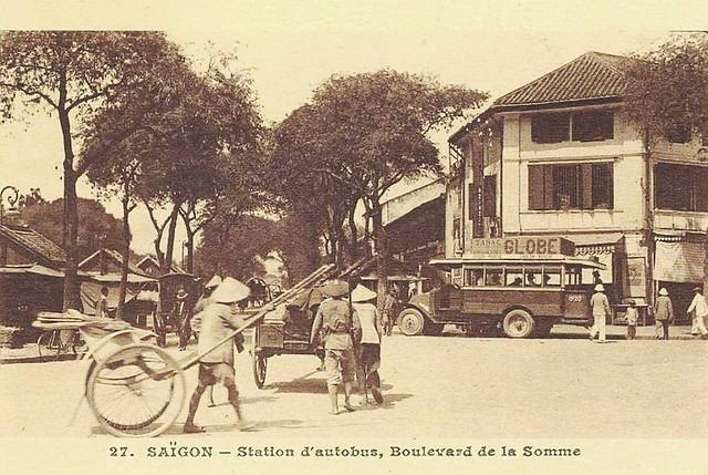 Saïgon - Station d'autobus, Boulevard de la Somme