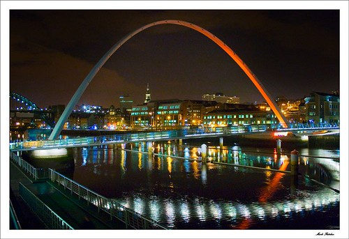 6631 - Millennium Bridge & The Quayside, Newcastle
