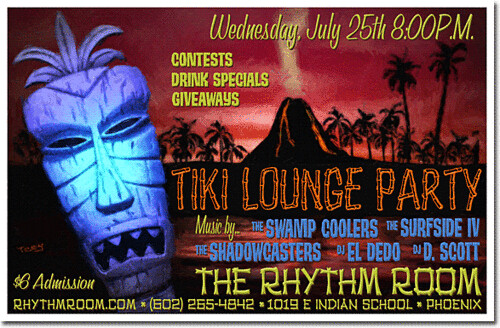 Tiki Lounge Party