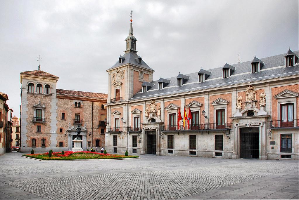 Madrid. Plaza de la Villa.