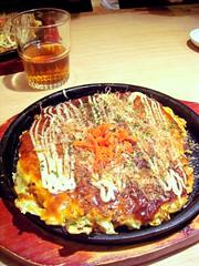 meal, breakfast, monjayaki, food, dish, cuisine, okonomiyaki,