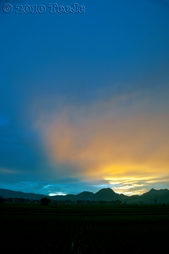 sunset indonesia geotagged bandung nikkor d300 ciwidey teeje soreang geo:lat=7021414 geo:lon=107536786