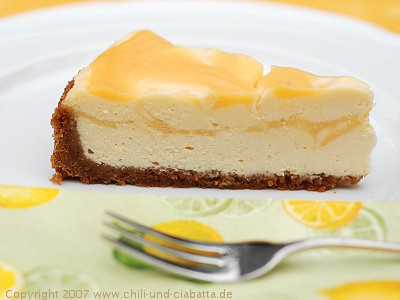 Lemon Curd marbled Cheesecake | Flickr - Photo Sharing!