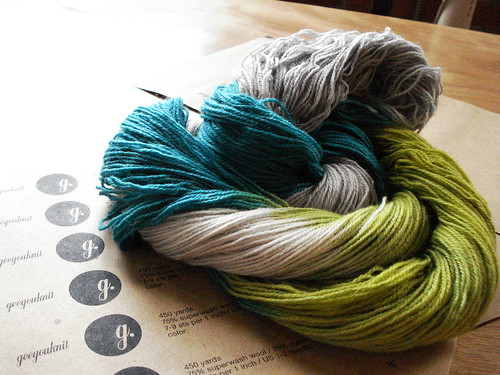 Appliance sock yarn by geeyouknit