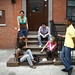 a new face on the stoop by brandon king