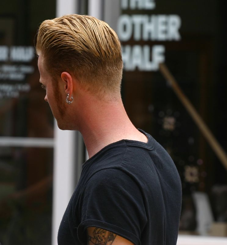 Creating A Smart And Stylish Slick Back Without Looking Greasy