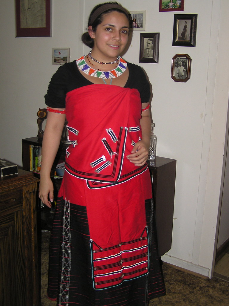 Xhosa dress | Mandy, Pinty's mother, insisted on dressing ...