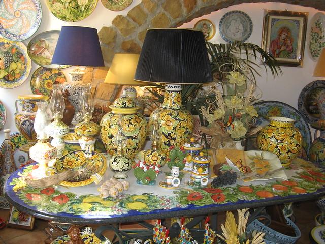Le ceramiche di santo s di camastra 4 le ceramiche di sa flickr photo sharing - Ceramiche santo stefano di camastra piastrelle ...