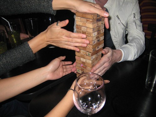 Jenga round 2 by Off Kilter, on Flickr