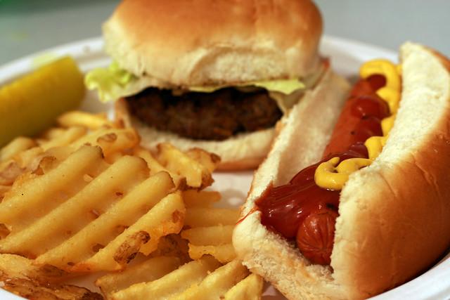 h hamburger hot dog hot french fries flickr photo sharing. Black Bedroom Furniture Sets. Home Design Ideas
