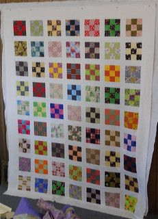 Betsy's Nine-Patch A Day Quilt