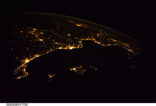 Mediterranean Riviera (NASA, International Space Station Science, 11/04/10)