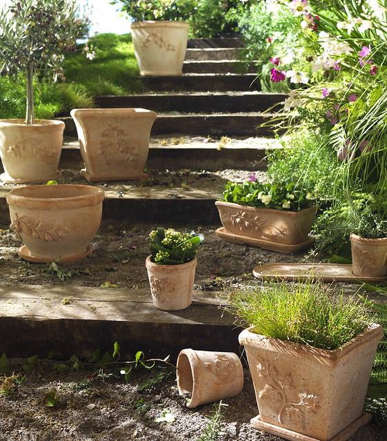 Escalier de jardin bucolique  Flickr - Photo Sharing!