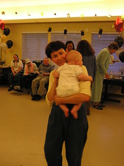Nancy dancing with Weston