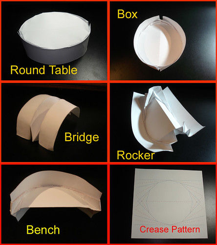 Creative Origami - Table to Rocker