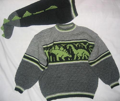 Knitted Dinosaur Sweater Flickr - Photo Sharing!