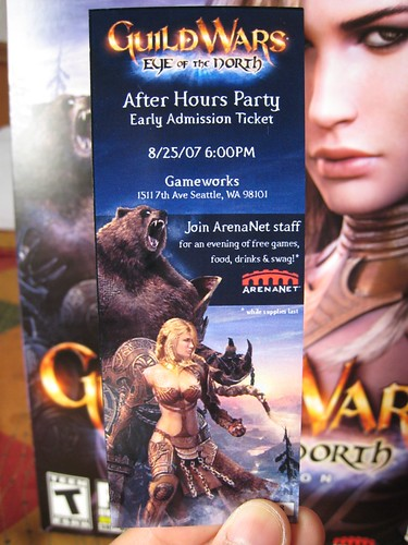 VIP Pass to the Guild Wars Party on August 25