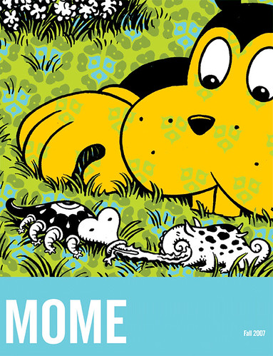Mome Fall 2007 (Vol. 9) - front cover by Jim Woodring