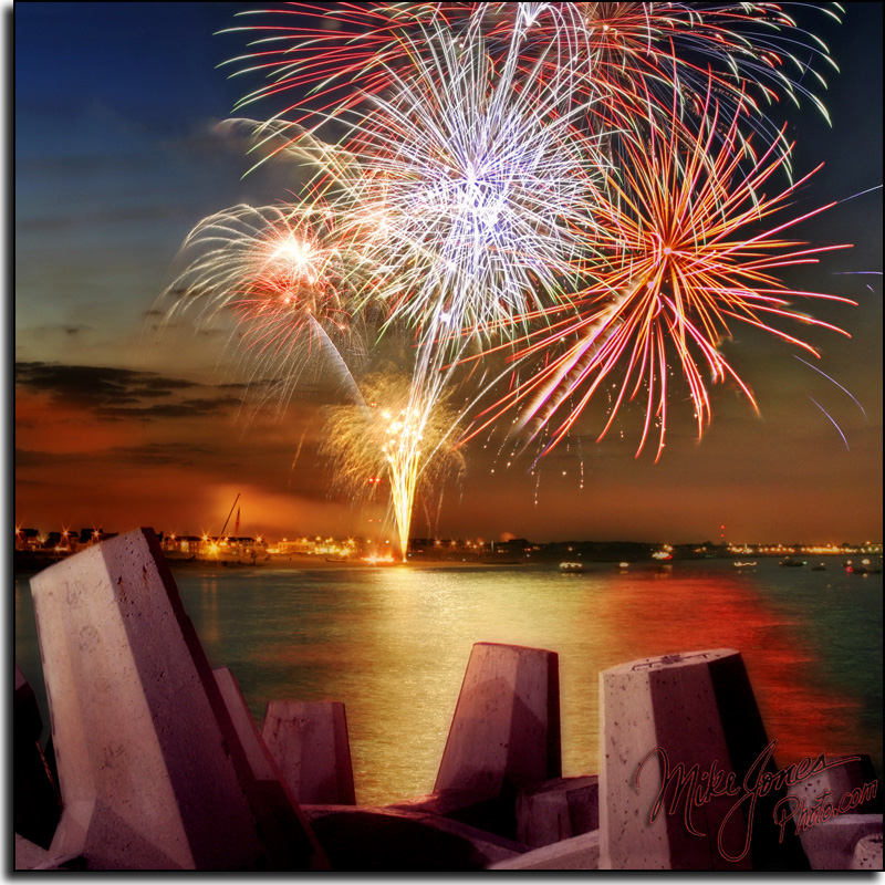 Fireworks on Planet Krypton