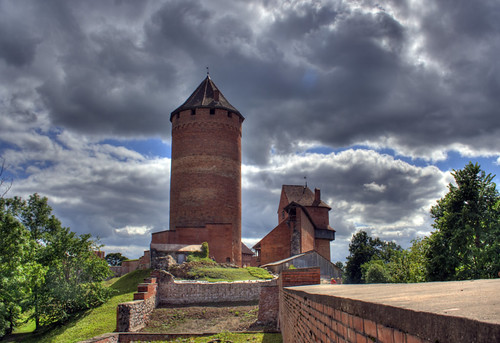 Main tower Turaida Castle Sigulda