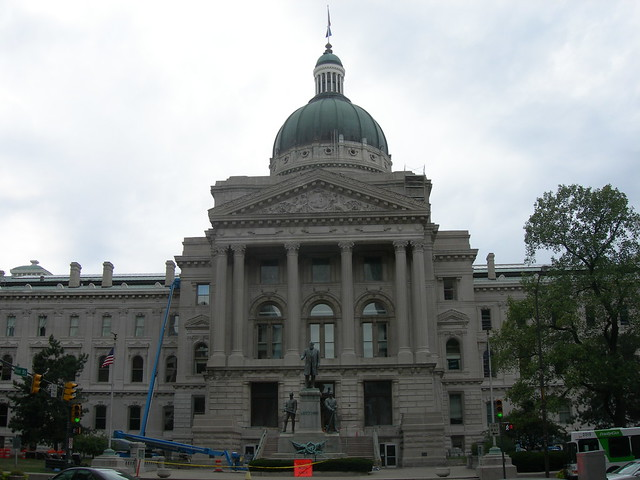 Indiana State Capitol Building Parking