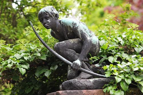 indianer statue