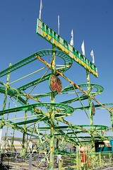 outdoor recreation(0.0), park(0.0), pole(1.0), recreation(1.0), amusement ride(1.0), roller coaster(1.0), amusement park(1.0),