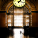 The Railway Station with A Myriad of Trains and One Clock That Rules Them All by Peter Kurdulija