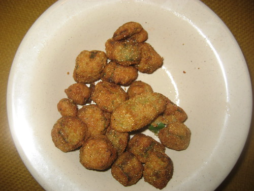 Damn Good Fried Okra