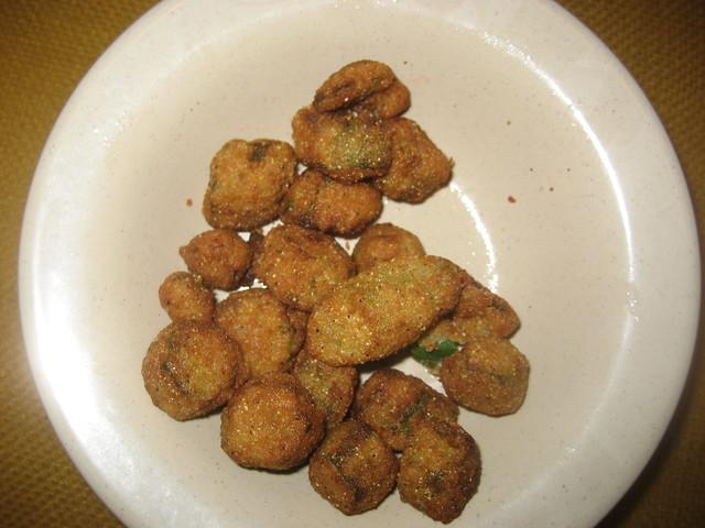 Damn Good Fried Okra